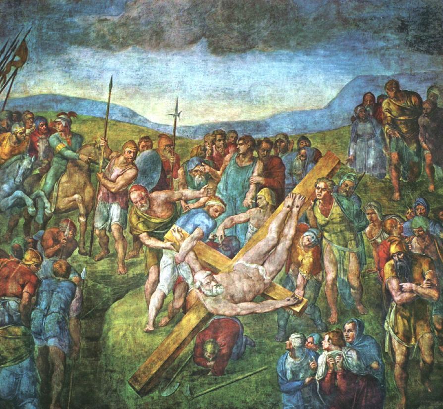Распятие Святого Петра, Ватикан