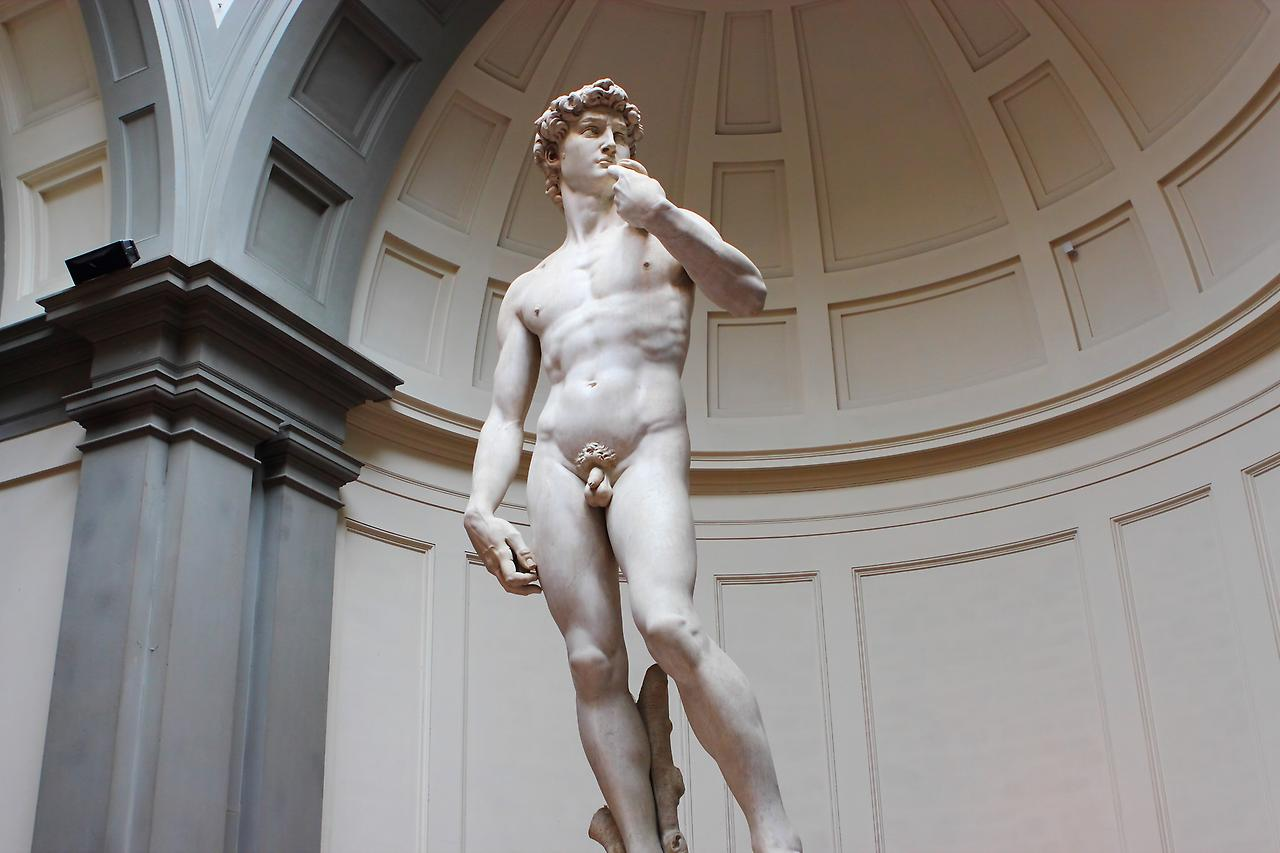 Статуя Давида, Галерея Академии во Флоренции