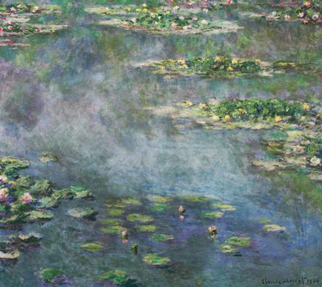 Клод Моне - Водяные лилии. 1906
