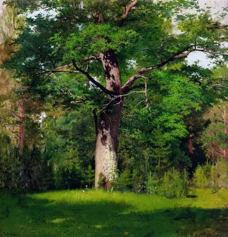 oak - Исаак Левитан