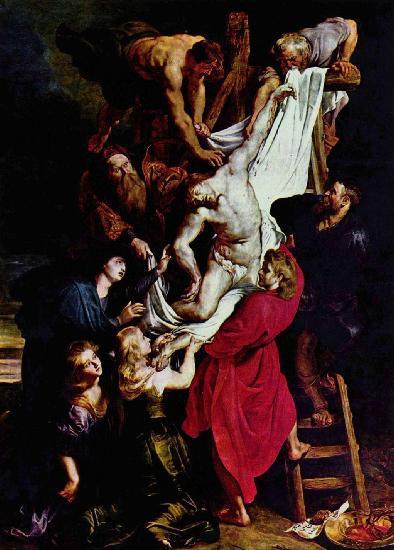 Снятие с креста Питер Пауль Рубенс