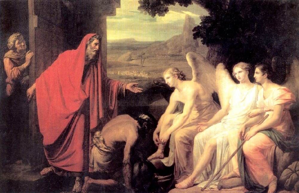 Явление Аврааму трёх ангелов у дуба Мамврийского