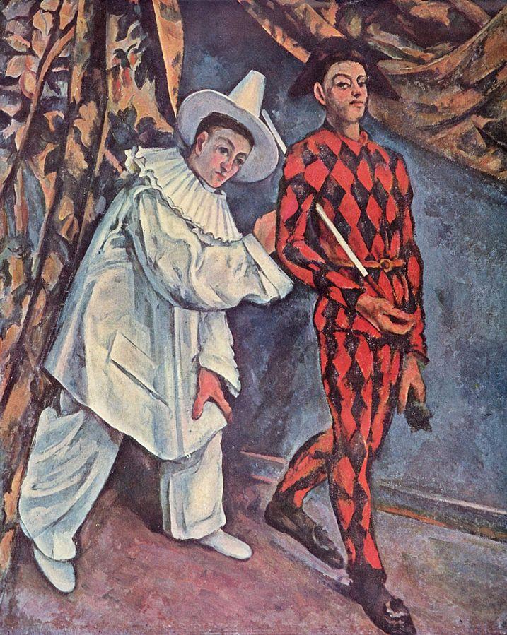 «Пьеро и Арлекин» или «Марди-Гра» — картина, написанная в 1888—1890 годах французским художником Полем Сезанном.