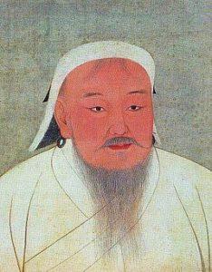 Чингиз ха́н, собственное имя — Тэмуджин