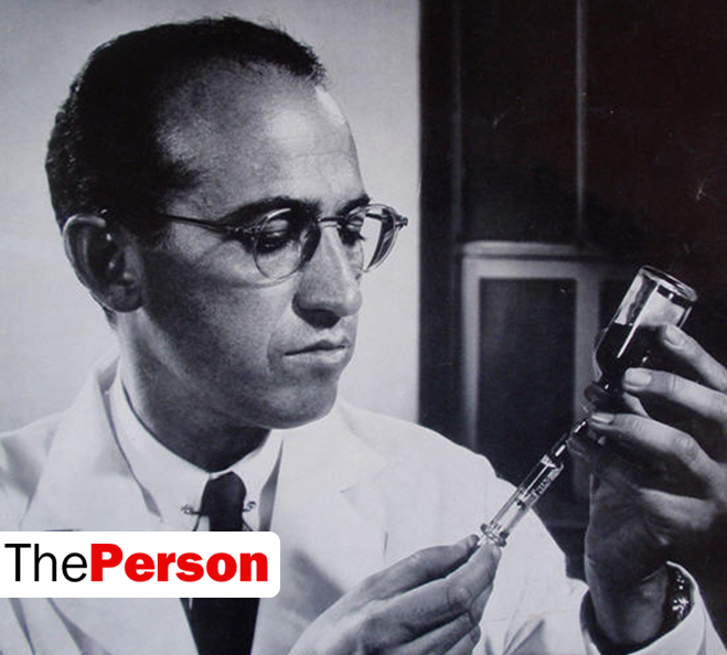 dr jonas salk polio vaccine Ever heard of jonas salk salk is the guy responsible for ridding the world (for the most part) of polio and he might just be crazy.