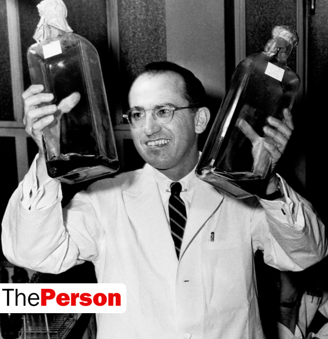 a biography of jonas salk the developer of the first polio vaccine Dr jonas salk was born in new york city on october 28, 1914 in 1953, salk announced that he had successfully developed a polio vaccine, reducing the number of deaths from the disease in the us by 95.