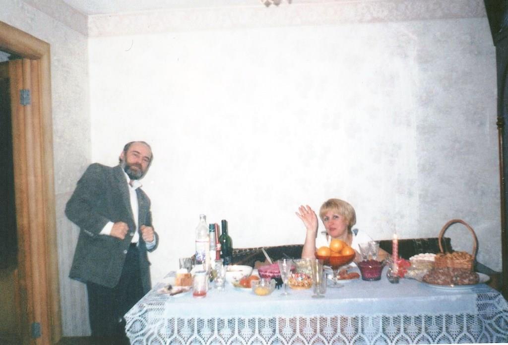 Селиванов А.А. со своей второй супругой