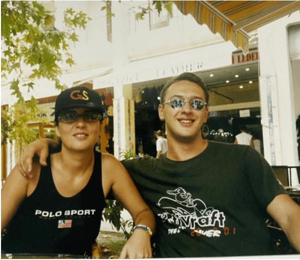 Иманов с сестрой - Гусейн Иманов
