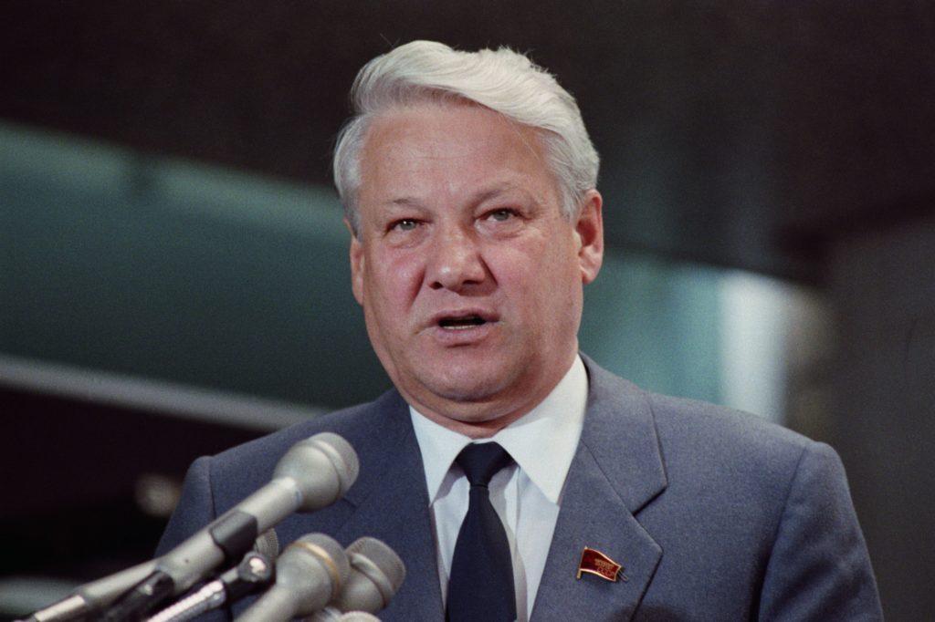 yeltsin speaking at press conference 514704566 5b968f52c9e77c002cf49de3 1024x682 - 15 занимательных фактов о Борисе Ельцине