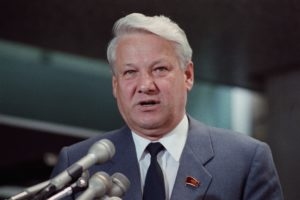 yeltsin speaking at press conference 514704566 5b968f52c9e77c002cf49de3 300x200 - 15 занимательных фактов о Борисе Ельцине