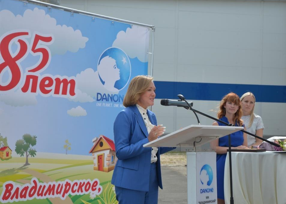 Marina Balabanova Danone - Балабанова Марина — карьера регионального президента компании Danone